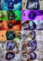 Die zwölf Runen der Rauhnachtzeit 2019
