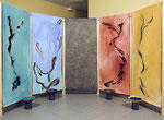 Amble, installation pour concert, de Yannick Charon