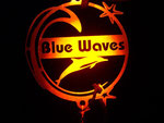 Blue Waves Logo underwater - photo from Dave Kissner
