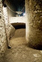 L'interno del torrione delle Monache