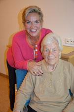Frau Margitta Rijosk beim Besuchsdienst