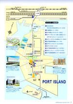 ポート アイランド 地図