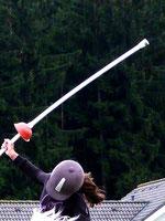 Lanze für Jousting