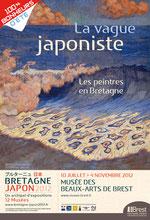 La vague japoniste. Les peintres en Bretagne. Exposition du 10 juillet au 4 novembre 2012