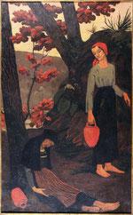 Paul Sérusier, Les porteuses d'eau ou La Fatigue, 1897, huile sur toile, musée des beaux-arts de Brest.