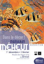 Affiche de l'exposition Dans le décor ! Grands décors sous-marins de Mathurin Méheut, Musée des beaux-arts de Brest, 1er décembre 2012 - 3 février 2013. © ADAGP, Paris, 2012.