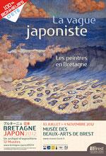 La vague japoniste. Les peintres en Bretagne.