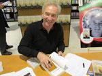 Photo of Francois Adrien, signing at Virgin