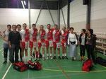 Une partie de l'équipe Seniors garçons à Orthez