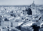 Vista aérea del centro histórico de  Salamanca