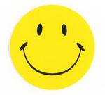 スマイリー ステッカー(Smiley sticker)