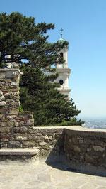 Burg Leopoldsberg, Blick auf die Burgkapelle, Wien