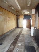 着工前の現場です。以前もラーメン屋でした。