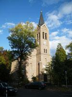 Blick auf die Erlöserkirche