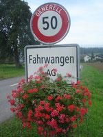 Verkehrsverein Fahrwangen - Blumenschmuck