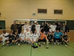 Erste und Zweite Mannschaft vom FC Oeding