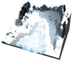 Avalanche de poudreuse © Graphies / MEDDE