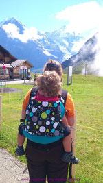 Wanderung auf dem Männlichen/Grindelwald (Buzzidil XL)