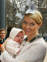 auch Prinzessin Mette-Marit stillte ihre Kinder