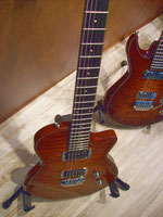 E-Gitarren auf der Musikmesse FFM 2012