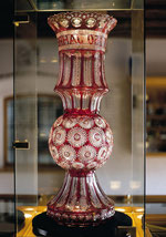 Glasmuseum Neustadt - Goldrubinvase