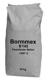 Feuerfester Beton Bormmex B 145 bis 1450°C
