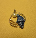 M-0005 - Muschel mit weißer Perle