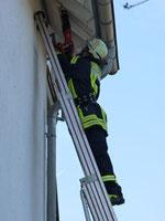 Freiwillige Feuerwehr Eckenhagen-Hespert im Einsatz (Foto: Familie Schoeler)