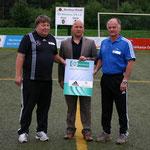 v.l. Uwe Langanke, Lars Müller, Norbert Kloschinski