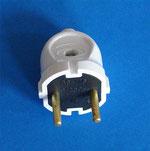 """Блок  """"Клен """" двухклавишный выключатель+ электрическая розетка с заземлением С2+110."""