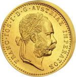 Zlatni dukat sa likom cara Franje Josipa