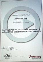 Certificato Steinberg