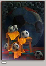 Football.Oil/canvas.180x135cm