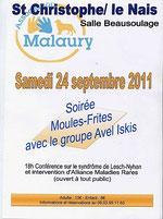 Soirée Association Malaury