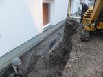 Trockenlegung Johann-Paul-Gruber-Weg Zirl