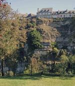 Depuis l'église Sainte Fauste : regardez votre Hotel !