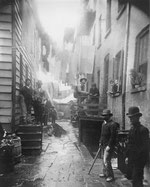 Bandit's Roost by Jacob Riis, New York, 1888