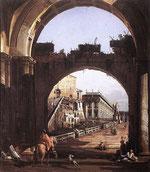 Scena urbana di Bellotto
