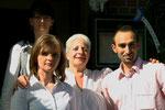 Marion, Loreta, Vanda Schiffler und Jackie (v.l.n.r.)