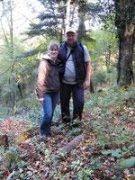 Meine Begleiter Oliver und Isabelle aus Duisburg