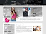plantilla electronica y musica reproductores ipod gratis para tienda jimdo