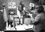 Fotoreporter im Labor 1989