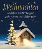 """Hörbuch """"Weihnachten"""" von 2007, Enrico de Paruta liest Weihnachtsgeschichten von Peter Rosegger, Ludwig Thoma (Heilige Nacht) und Adalbert Stifter, Weltbild Verlag"""