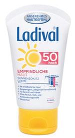 Ladival ® Sofortschutz vor Sonnenbrand und sonnenbedingter Hautalterung