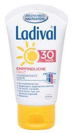 Ladival® Sofortschutz vor Sonnenbrand und sonnenbedingter Hautalterung
