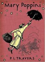 Portada de Mary Poppins de P.L. Travers.