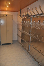 Drying room with  shoe dryer and clothing drying cabinet