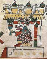 Representación en el códice Dresde.
