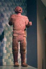 Escultura de terracota de Xipeh totec, de Coatlinchan.