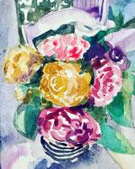 Rose la rosée jardin